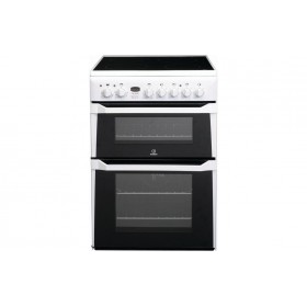 UK INDESIT DOUBLE OVEN COOKER - ID60C2W