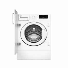 BEKO INTEGRATED WASHING MACHINE 8KG 1400RPM - WITV8712XW0