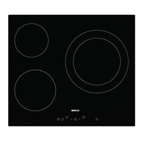 BEKO Ceramic Hob 3 Ring 60 cm - HIC63401T
