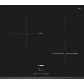 Bosch Induction Hob 3 Zone, 60 cm - PUC631BB2E