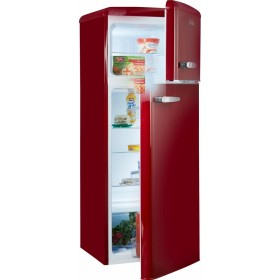 Amica 2 Door Fridge Freezer KGC15630R RED