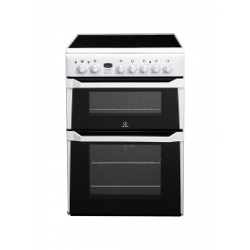 INDESIT DOUBLE OVEN COOKER - ID60C2WS