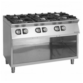 INDUSTRIAL ON TO COUNTER TOP STOVE WITHOUT OVEN - ECG760G