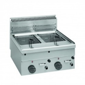 INDUSTRIAL DOUBLE FRYER - MFE 40