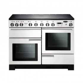 "RANGEMASTER ""PROFESSIONAL 110 DELUXE"" INDUCTION RANGE COOKER 110 CM - PDL110EIWH/C"