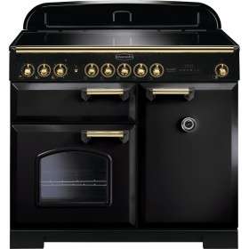 "RANGEMASTER ""CLASSIC 100 DELUXE"" INDUCTION RANGE COOKER 100 CM - CDL100EIBL/B"