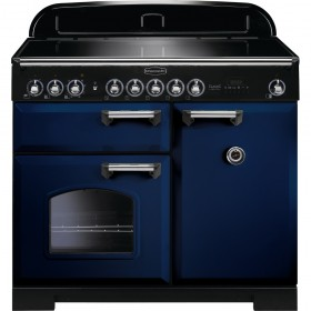 "RANGEMASTER ""CLASSIC 100 DELUXE"" INDUCTION RANGE COOKER 100 CM - CDL100EIRB/C"