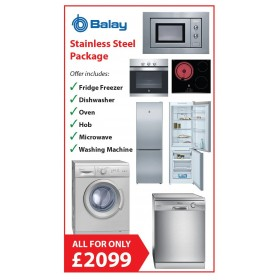 BALAY FULL KITCHEN PACKAGE DEAL - STAINLESS STEEL
