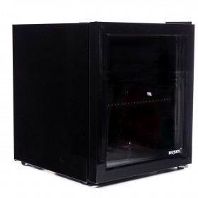 HUSKY GLASS DOOR MINI FRIDGE - HY192