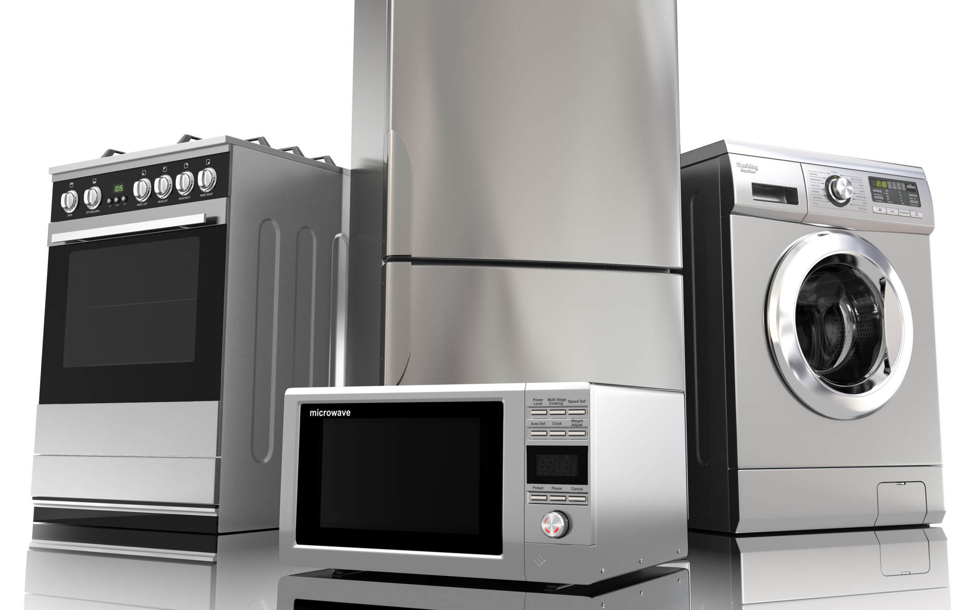 Complete Range of Appliances